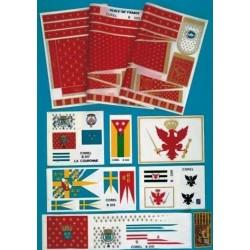 Mirage and Sirene Flag set