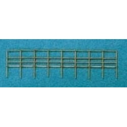 Brass Railings 20x400 mm
