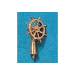 Ships wheel brass 8 spoke...