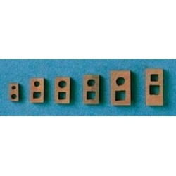 Testa di moro 7x12 mm 4 pezzi