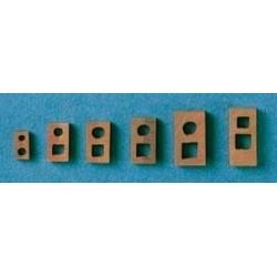 Testa di moro 9x17 mm 4 pezzi