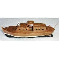 Barca diesel in legno kit...