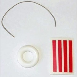 Salvagente in gomma 30 mm