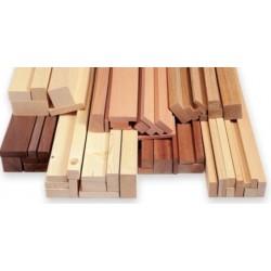 Mahogany Strip 1000x3x3 mm