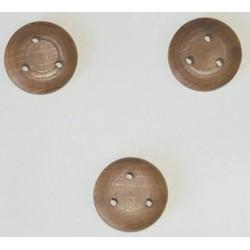 Bigotte in noce 12 mm 10 pezzi