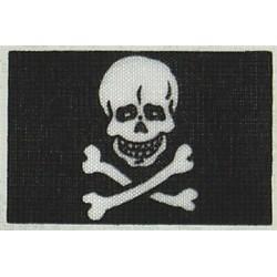 Pirate flag 20x30 mm