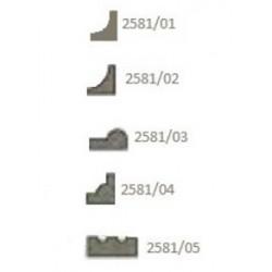 Profilati in noce 500x3x3 mm