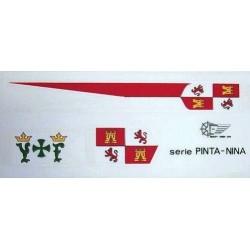 Bandiere per Nina e Pinta
