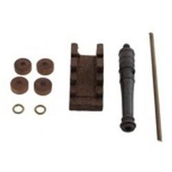 Cannone con affusto 25 mm