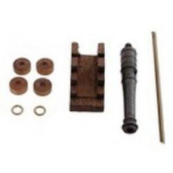 Cannone con affusto 30 mm