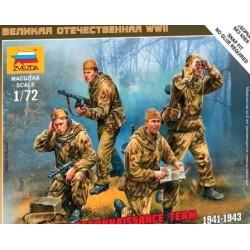 Soviet recon team WWII 1/72