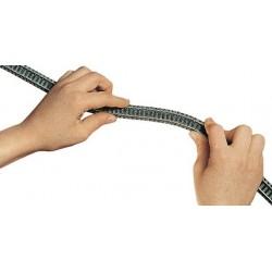 Binario flessibile 777 mm...
