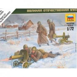 Soviet machine gun 1/72