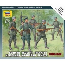 German Regular Infantry...