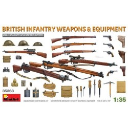 British infantry weapons...