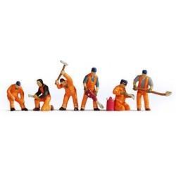Lavoratori staradali scala N