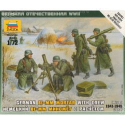 GERMAN 80 mm MORTAR WITH...