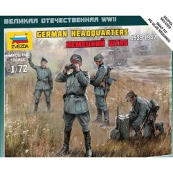 GERMAN HEADQUARTERS WWII 1/72