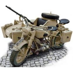 German Military Motorcycle...