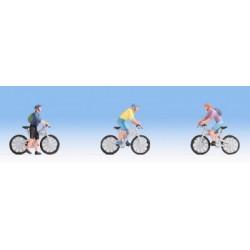 Mountain bikers scala HO