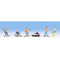 Snowboarders scala HO