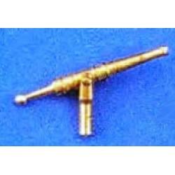 Colubrina in metallo 9x18 mm