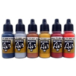 US EARTH RED MODEL AIR 17 ml