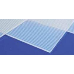 Foglio PVC clear/matt ribb...