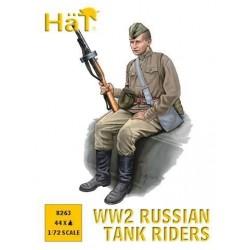 Russian tank riders 1/72