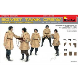 Soviet Tank Crew winter...
