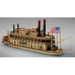 Mississippi wooden model...