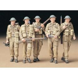 British Infantry on Patrol...
