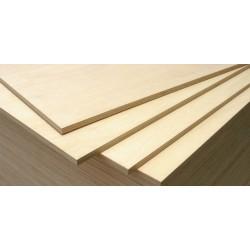 Birch Plywood 380x300x3 mm