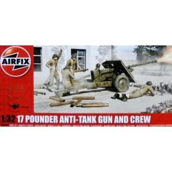 17 Pdr Anti-Tank Gun 1/32