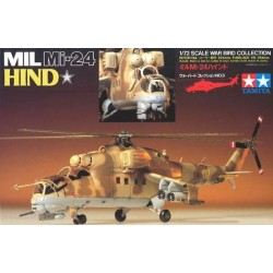 Elicottero Mil Mi-24 Hind 1/72