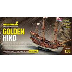 Golden Hind scale 1/53...