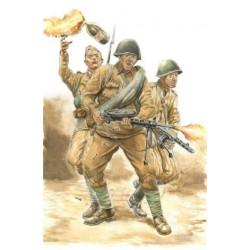 WWII Soviet Infantry 1/56
