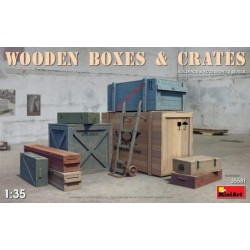 9 Boxes and Hand Cargo Cart...