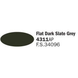 Flat Dark Slate Grey Royal...