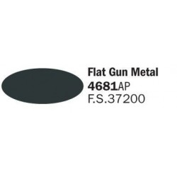Metalized Flat Gun Metal...