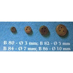 Bigotte 5 mm 50 pezzi