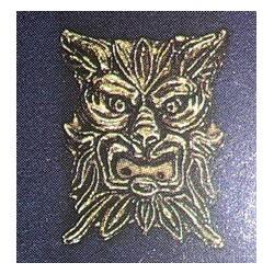 Decorazione maschera leone...