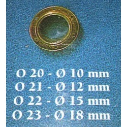 Oblò 15 mm 10 pezzi