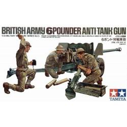 British 6pdr Anti-Tank Gun...