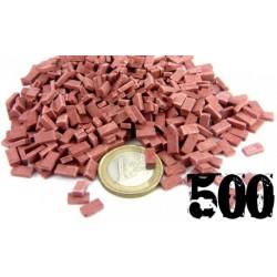 500 mattoni ceramici rossi...