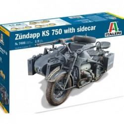 Zundapp KS 750 with Sidecar...
