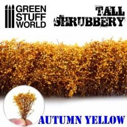 Arbusti giallo autunnale...