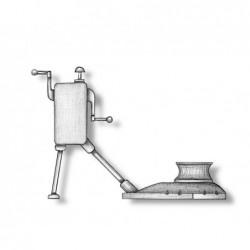 Metal Windlass 35x35x20 mm