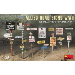 Allies Road Signs WWII...