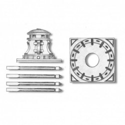 Capstan With Base Plate 18 mm